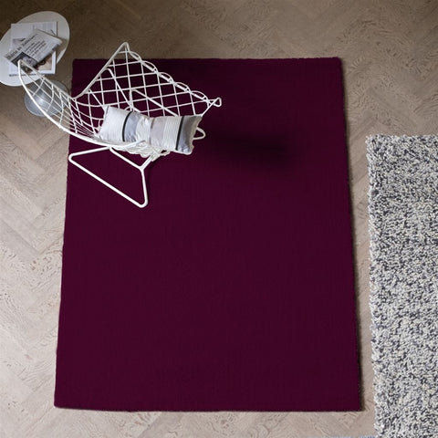 Soho Damson Rug design by Designers Guild