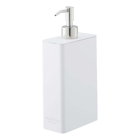 Tower Rectangular Bath and Shower Dispensers in Various Colors and Designs