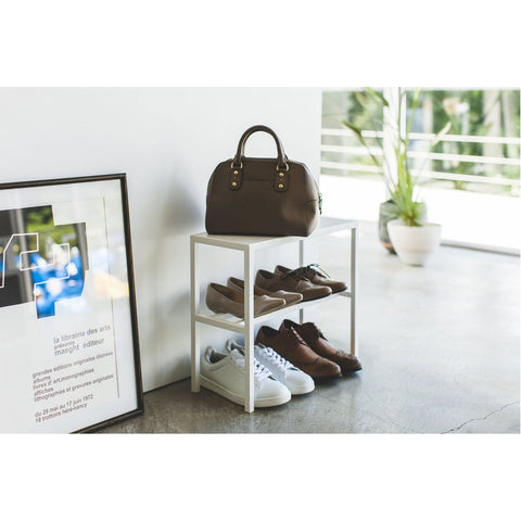 Tower 2-Tier Entryway Shoe Organizer by Yamazaki