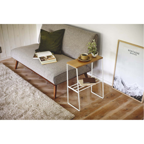 Tosca Narrow Living Room End Table by Yamazaki