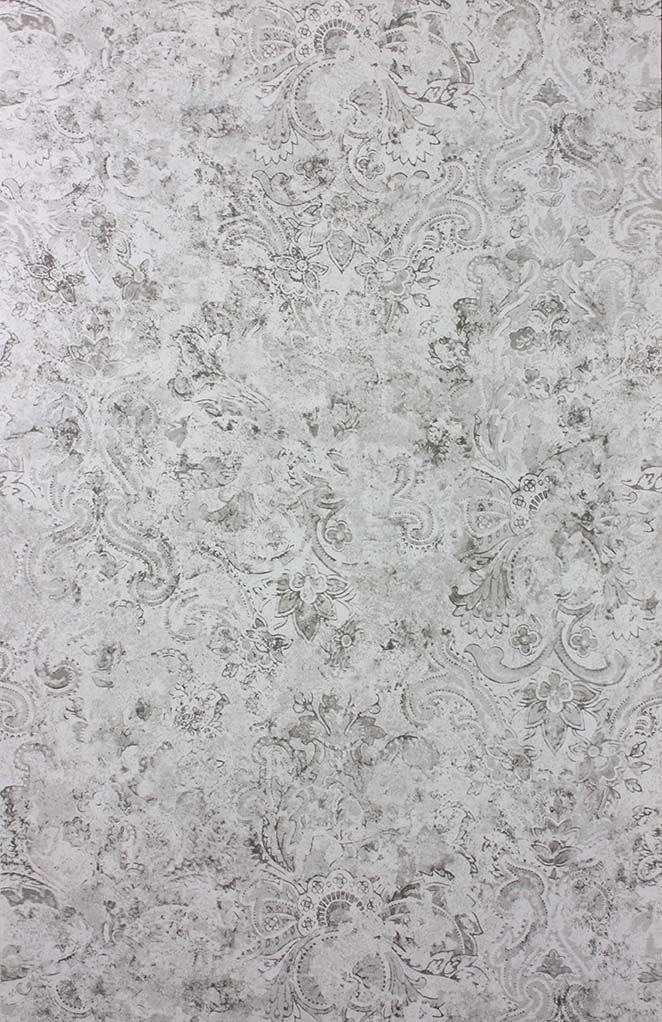 Sample Latania Wallpaper in gray from the Samana Collection by Matthew Williamson