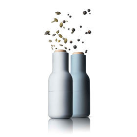Two-Pack Bottle Grinder in Cloud and Storm Blue design by Menu