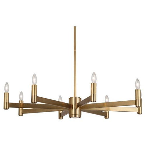 Delany Collection Round Chandelier by Robert Abbey