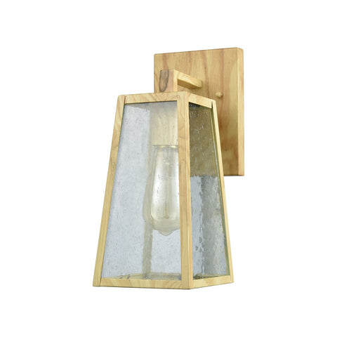 Meditterano 1 Outdoor Sconce in Birtchwood