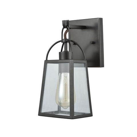 Barnside 1 Vanity Sconce in Oil Rubbed Bronze