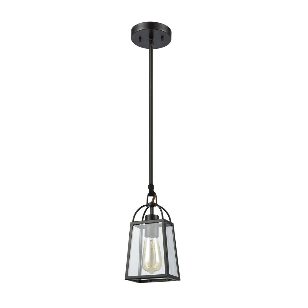 Barnside 1 Pendant in Oil Rubbed Bronze