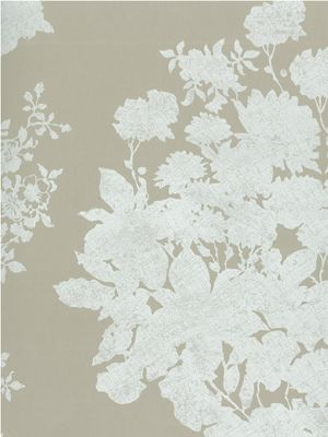 Salcey Wallpaper in tan from the Folia Collection by Osborne & Little
