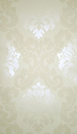 Sample Radnor Wallpaper in Beige from the Folia Collection by Osborne & Little