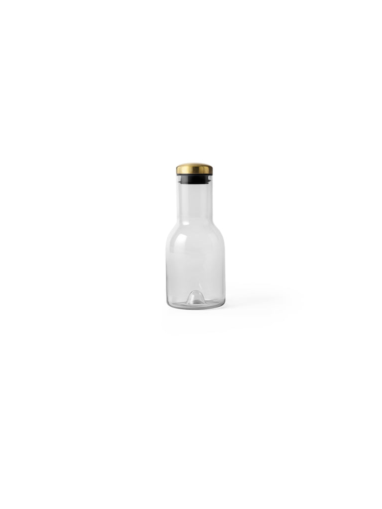 Bottle Carafe w/ Brass Lid in Various Sizes design by Menu