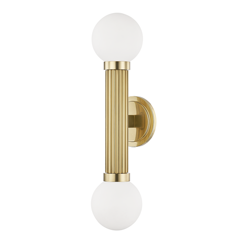 Reade 2 Light Wall Sconce by Hudson Valley