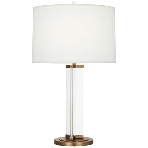 Fineas Column Table Lamp by Robert Abbey
