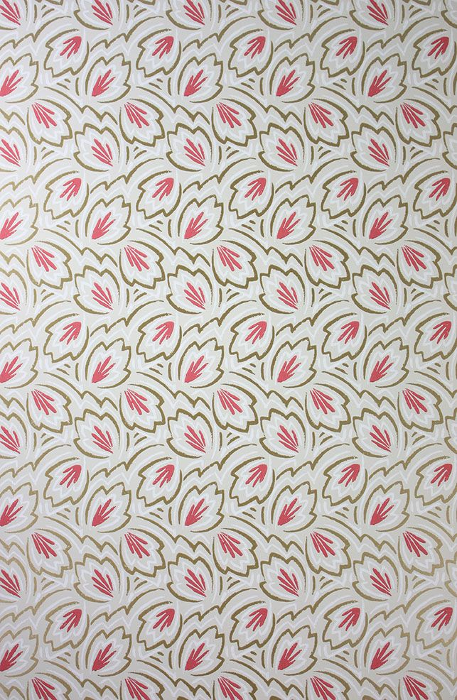 Elcho Wallpaper in multi-color from the Braemar Collection by Nina Campbell