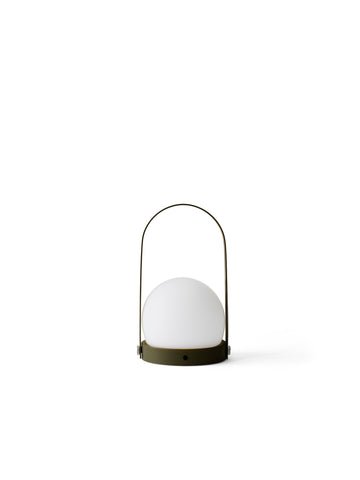 Carrie Portable LED Lamp in Olive