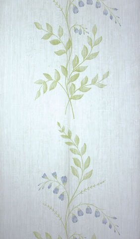 Aubourn Wallpaper in green from the Woodsford Collection by Nina Campbell