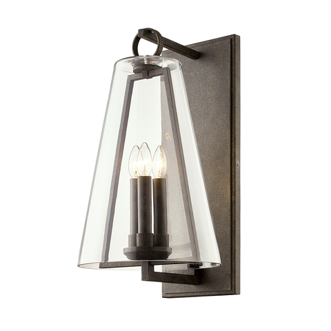 Adamson Large Outdoor Wall Sconce by Troy Lighting