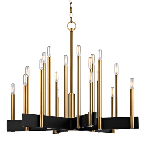 Abrams 18 Light Chandelier by Hudson Valley Lighting