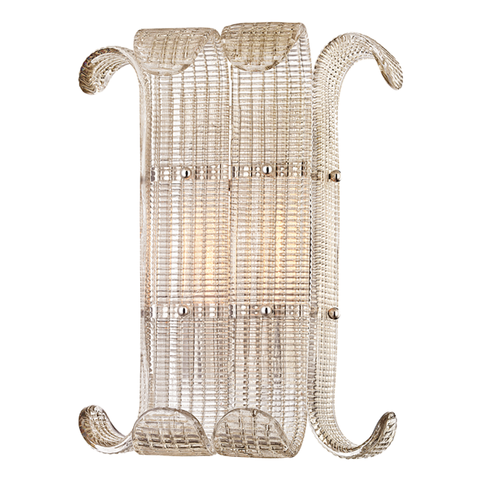 Brasher 2 Light Wall Sconce by Hudson Valley Lighting