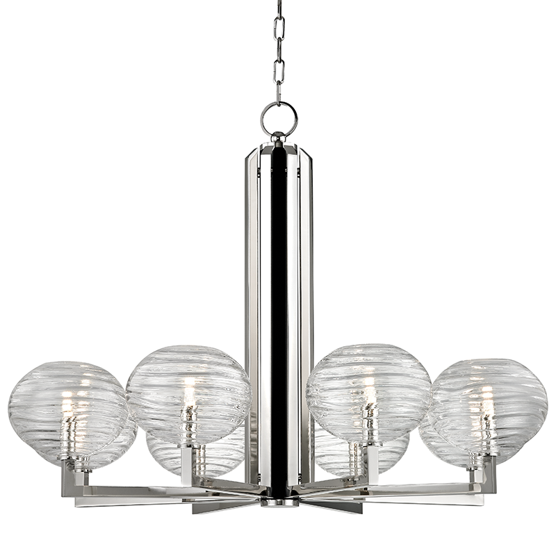Breton 8 Light Chandelier by Hudson Valley Lighting