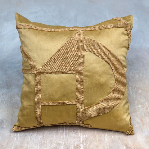 Hasani Beaded Cushion design by Dassie Artisan