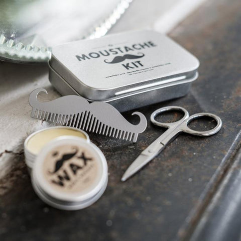 Moustache Grooming Kit design by Men's Society