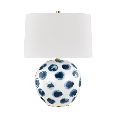 Blue Point Table Lamp