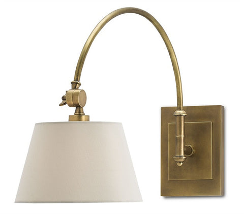 Ashby Swing-Arm Wall Sconce design by Currey & Company