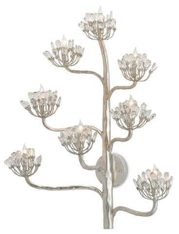 Agave Americana Wall Sconce in Various Finishes design by Currey & Company