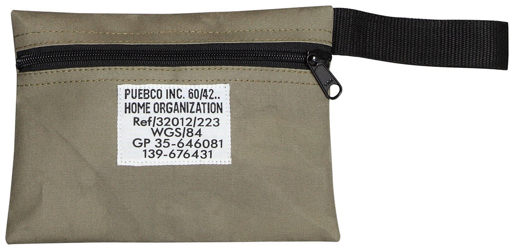 Laminated Fabric Pouch - Short