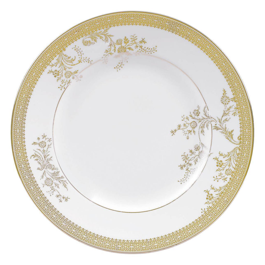 Vera Lace Gold Dinnerware Collection by Vera Wang