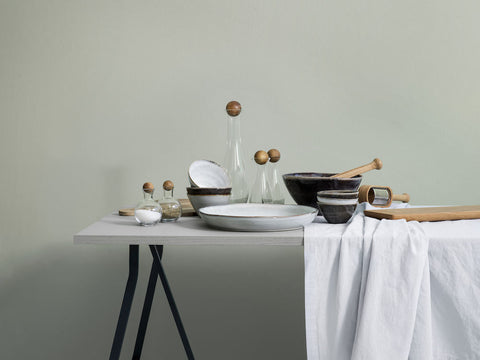 Nature Grey Serving Bowl in Various Sizes by Sagaform