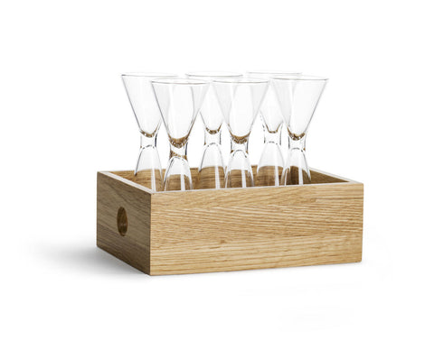 Shot Glass Set w/ Storage Box design by Sagaform