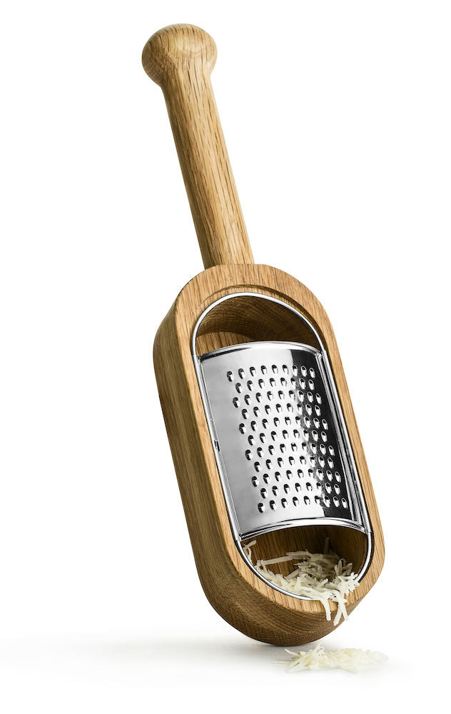 Nature Cheese Grater W Handle By Sagaform Burke Decor