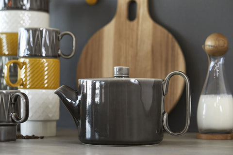 Coffee & More Tea Pot in Grey by Sagaform