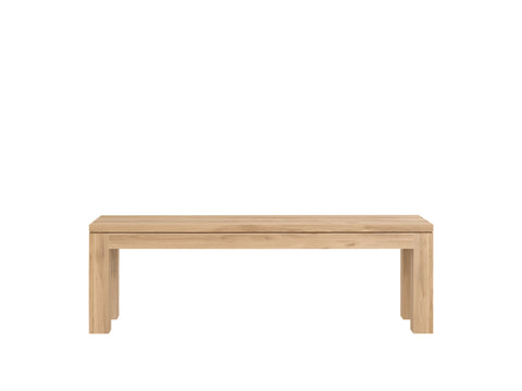 Oak Straight Bench in Various Sizes