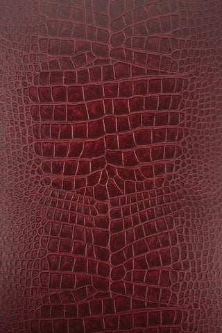 Crocodilo Wallpaper in red from the Metropolis Collection by Osborne & Little