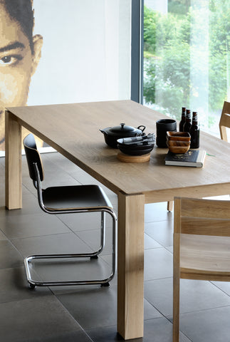 Oak Slice Dining Table in Various Sizes