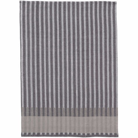 Grain Jacquard Tea Towel in Grey design by Ferm Living