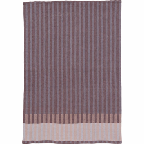 Grain Jacquard Tea Towel in Bordeaux by Ferm Living