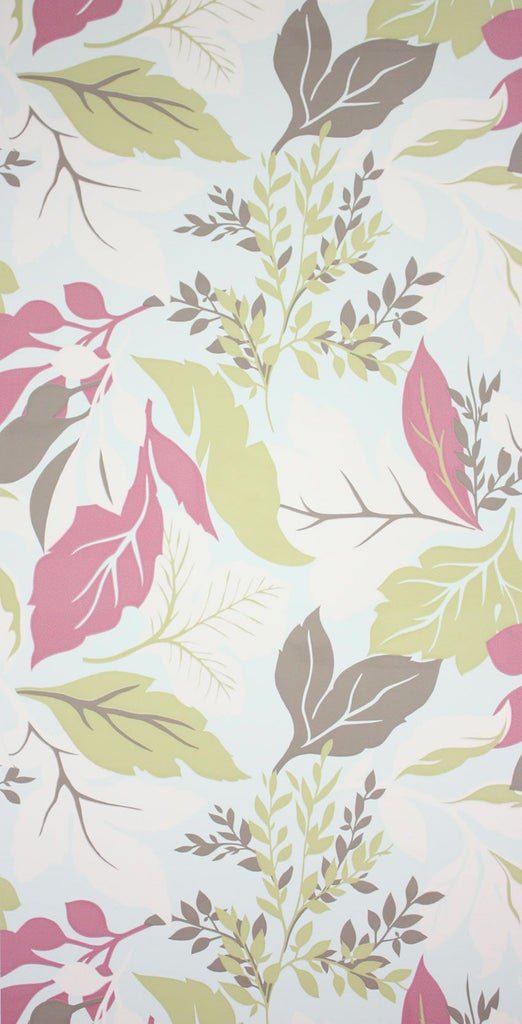 Chardon Wallpaper in multi-color from the Perroquet Collection by Nina Campbell