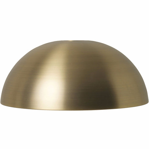 Dome Shade in Brass by Ferm Living
