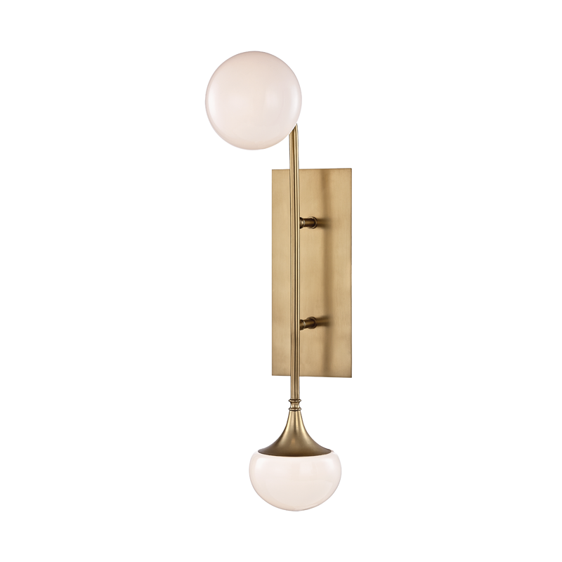 Fleming 2 Light Wall Sconce by Hudson Valley Lighting