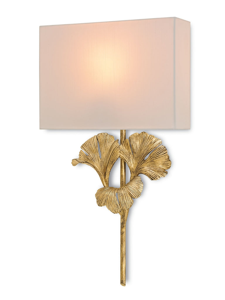 Gingko Wall Sconce design by Currey & Company