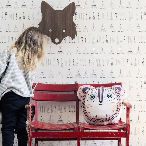 Native Kid's Wallpaper by Ferm Living