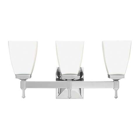 Kent 3 Light Bath Bracket by Hudson Valley Lighting