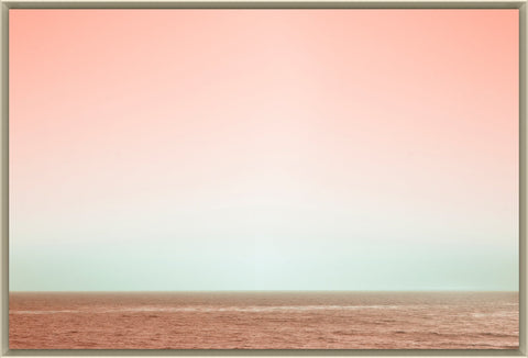 Pink Sea Framed Photo by Leftbank Art