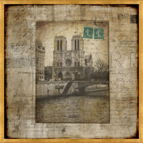 Voyage Through Paris IV by Leftbank Art