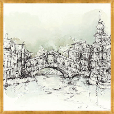 City Sketch I by Leftbank Art