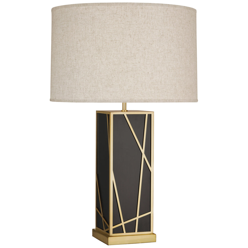 Bond Tall Table Lamp in Various Finishes & Shades design by Michael Berman
