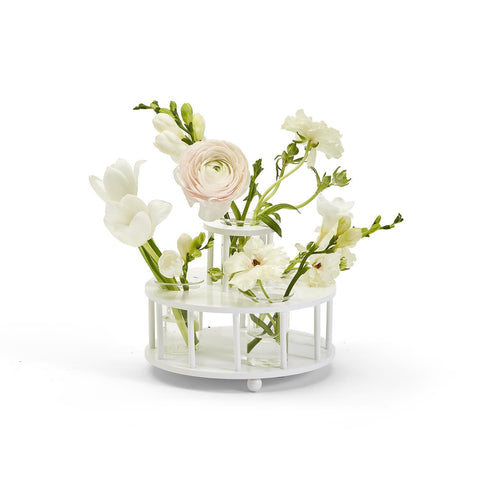 Colonnade 2-Tier Floral Centerpiece Arranger