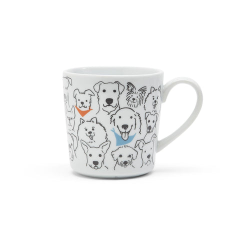 """The Dog Loves Me Best"" Mug"